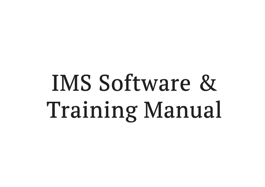 ims software.fw